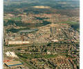 Nuffield Industrial Estate aerial view