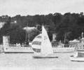 Boats in front of Brownsea