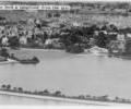 Poole Park and Longfleet from the air.