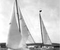 "Robin Knox Johnston's yacht ""Ocean Spirt"""