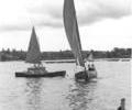 Recreational boating, Poole Park.