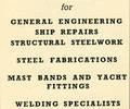 Advert for The Hamworthy Welding Company.