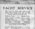 Advert for The Poole Harbour Yacht Company. Ltd.
