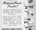 Advert for Wessex Industries.