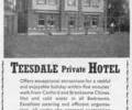 Teesdale Private Hotel.