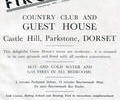 Advert For Firgrove Guest House.