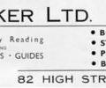 Advert for J.Looker Ltd.
