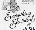 Advert for Asih Electrics. from 1947 Poole Guide
