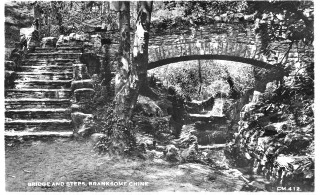 Bridge and Steps, Branksome Chine.jpg