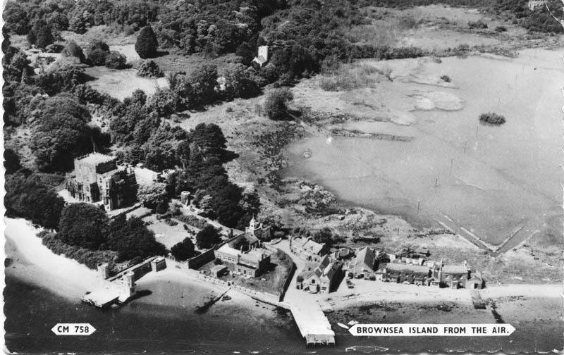 Brownsea Castle, Quay and Lagoon.jpg