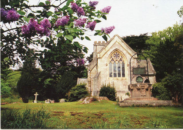 Eastern View of Church and Memorial Wellhead.jpg